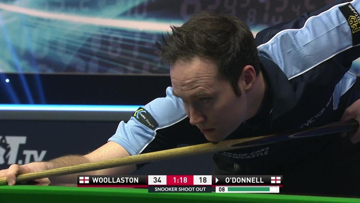 Snooker Shoot out : O'Donnell's fluke