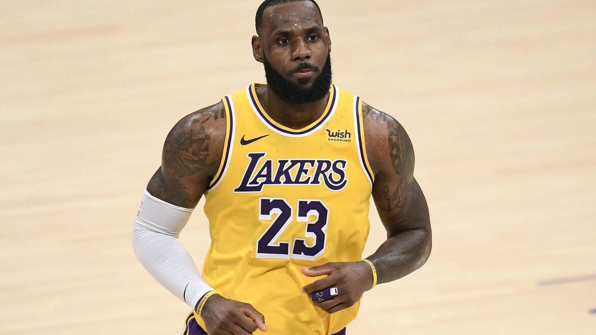 LeBron führte die Lakers zum fünften Sieg in Folge