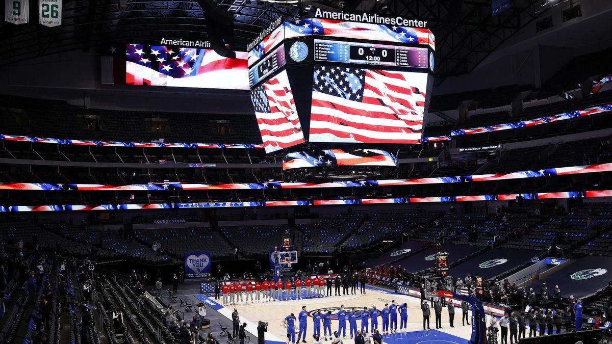 US-Hymne lief in Dallas wieder