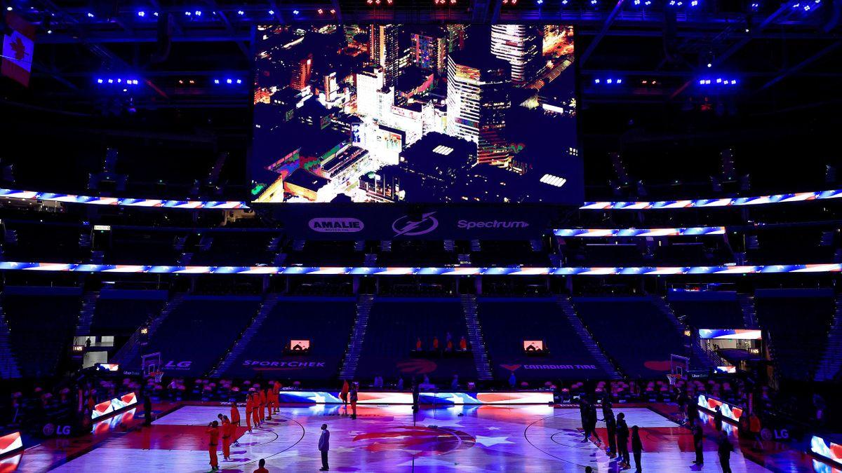 Toronto Raptors beenden die Spielzeit in Tampa
