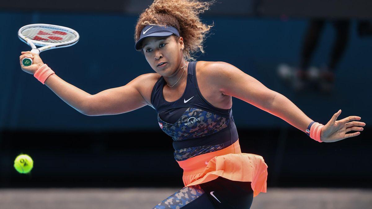 Naomi Osaka bewies in ihrem Achtelfinale starke Nerven