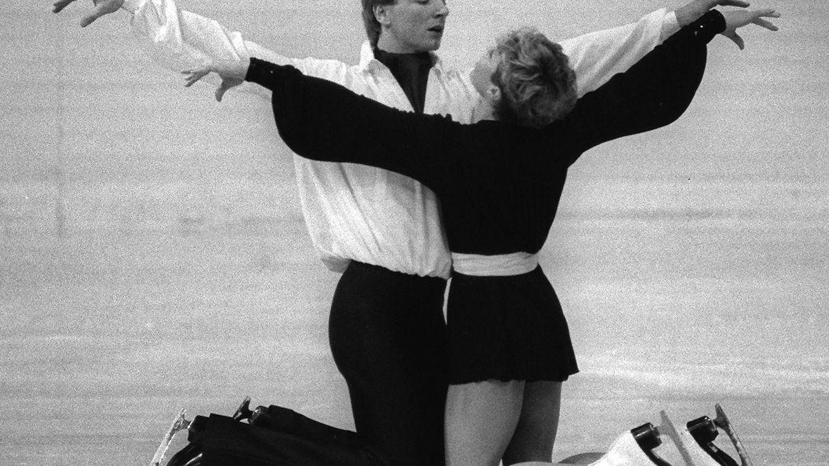 1984 schreiben Dean und Torvill Eiskunstlauf-Geschichte