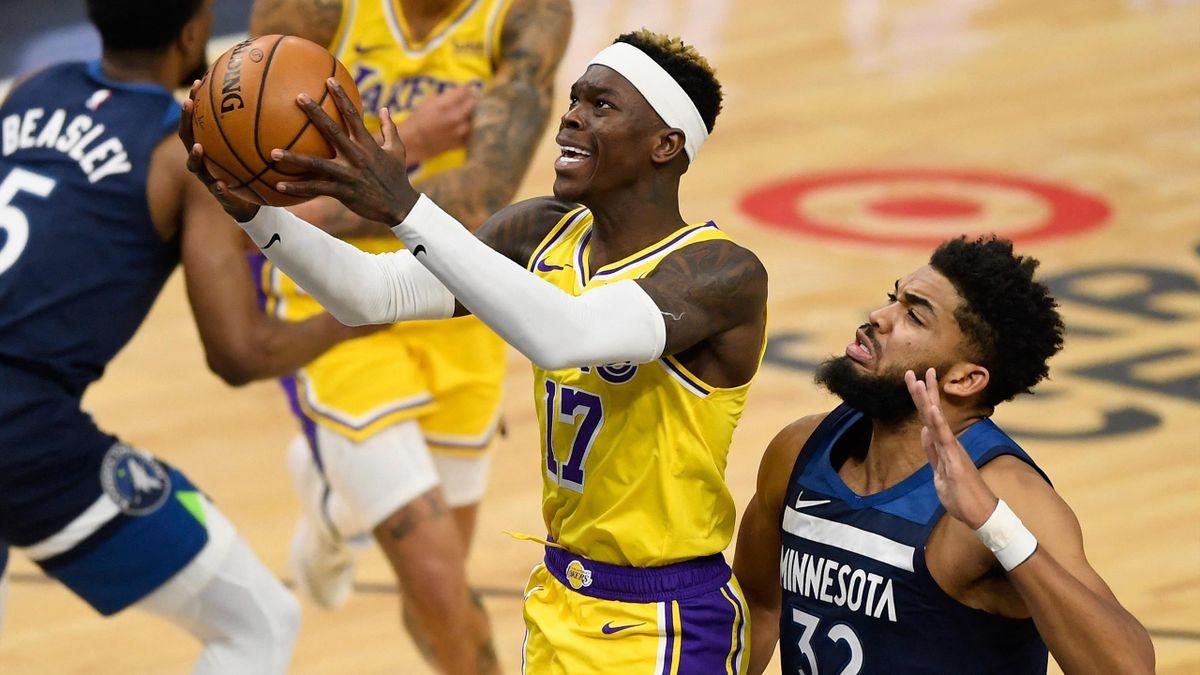 24 Punkte von Dennis Schröder zum Sieg der Lakers