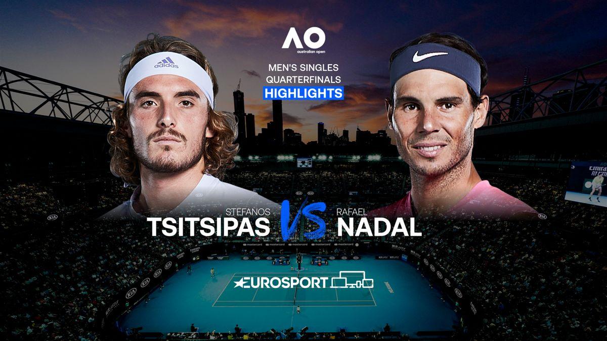 Highlights | Stefanos Tsitsipas - Rafael Nadal