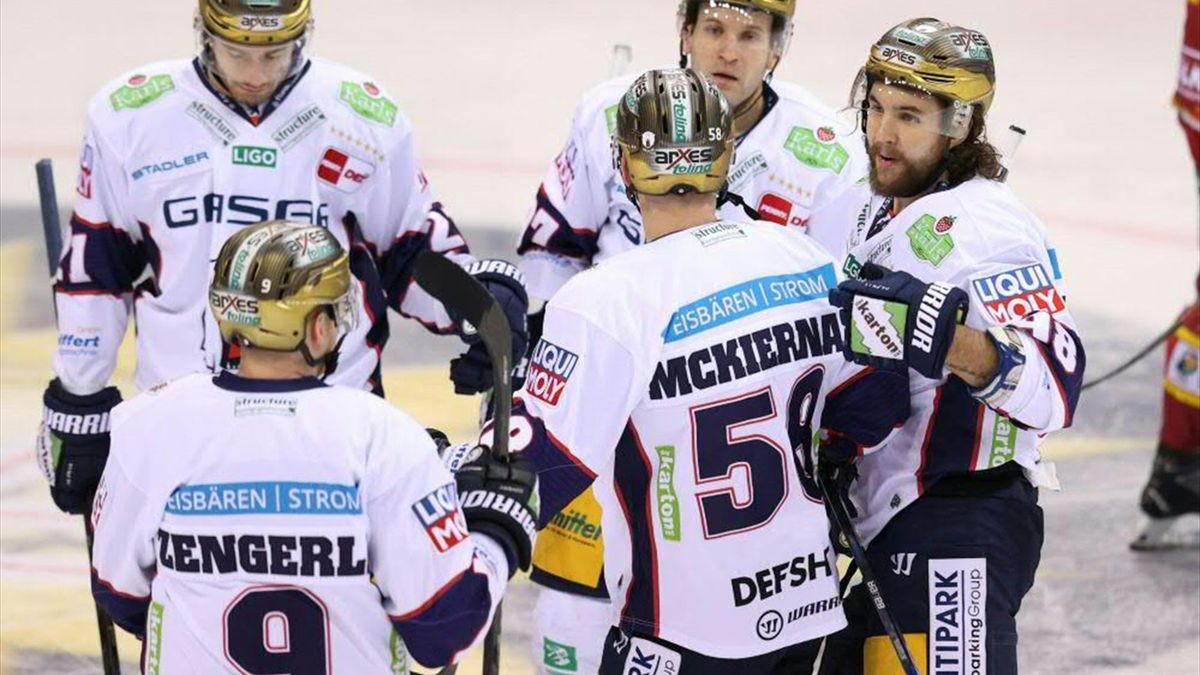 Eisbären Berlin gewinnen souverän gegen Krefeld Pinguine