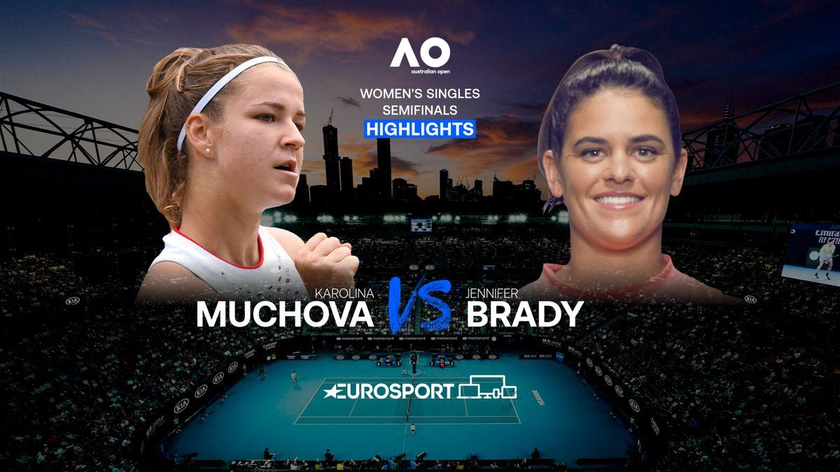 Highlights | Karolina Muchova - Jennifer Brady