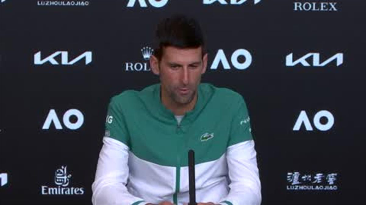 'I'm honoured to play when she does, to experience her greatness' - Djokovic on Serena