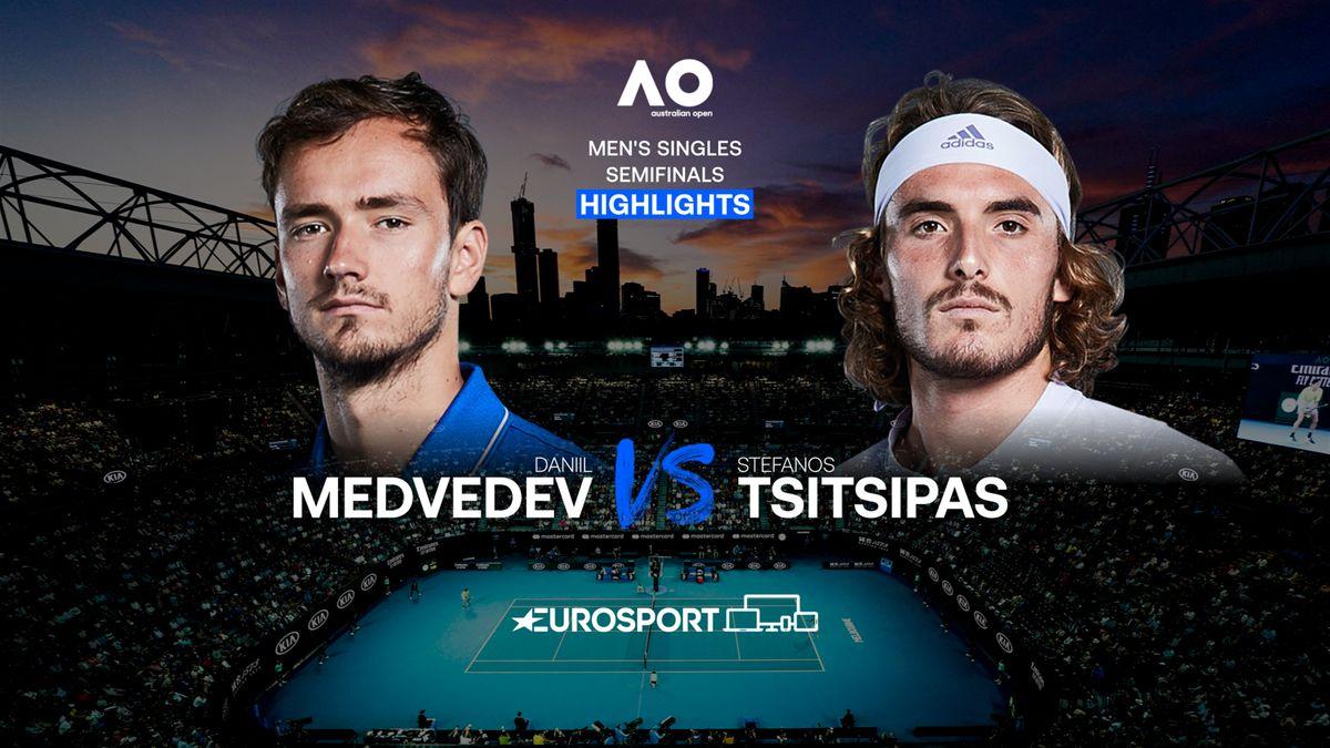 Highlights   Daniil Medvedev - Stefanos Tsitsipas