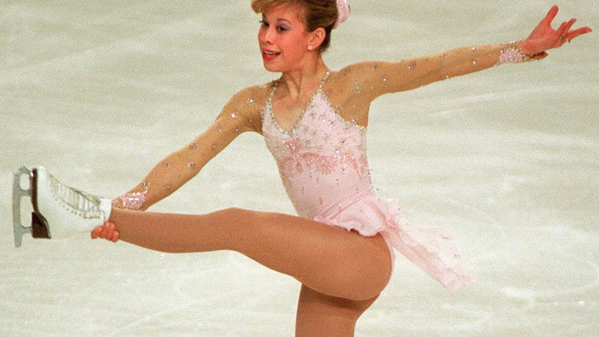 Tara Lipinski wird 1997 Weltmeisterin