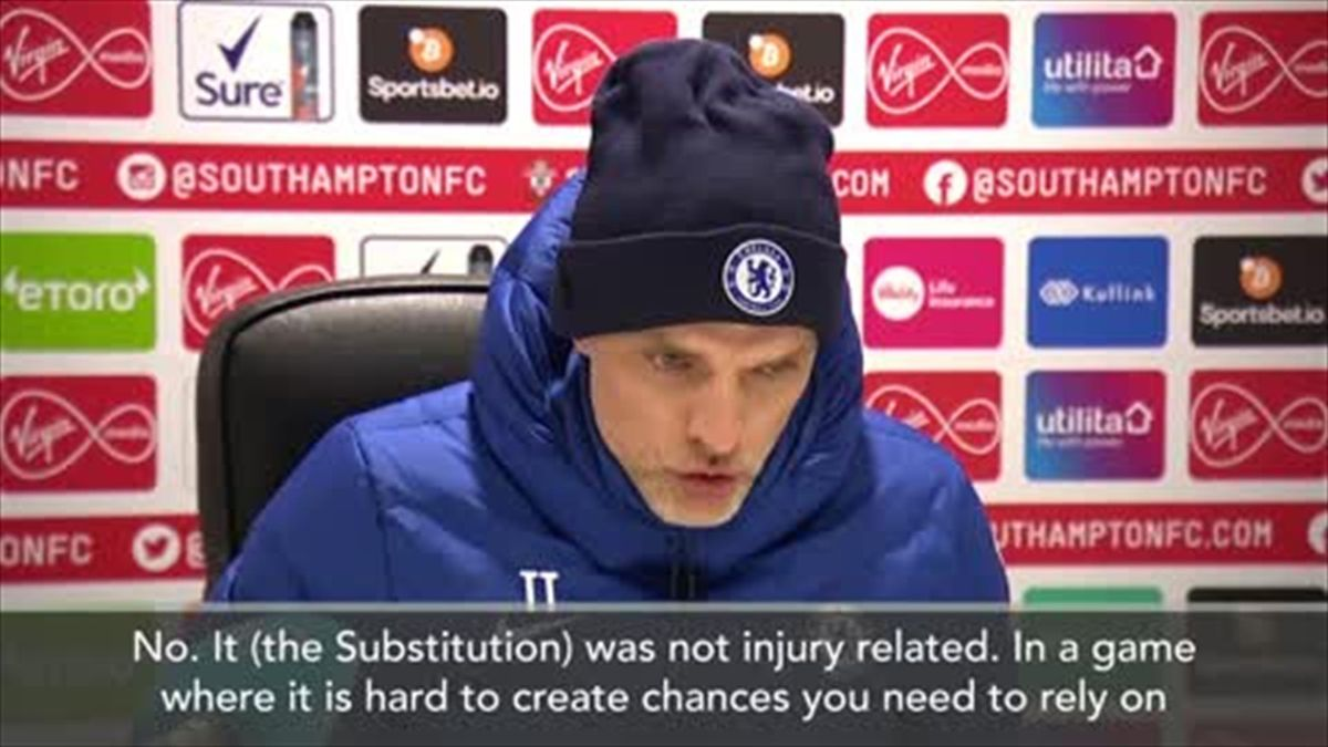 Tuchel explains Hudson-Odoi sub but says player has chance to start against Atletico