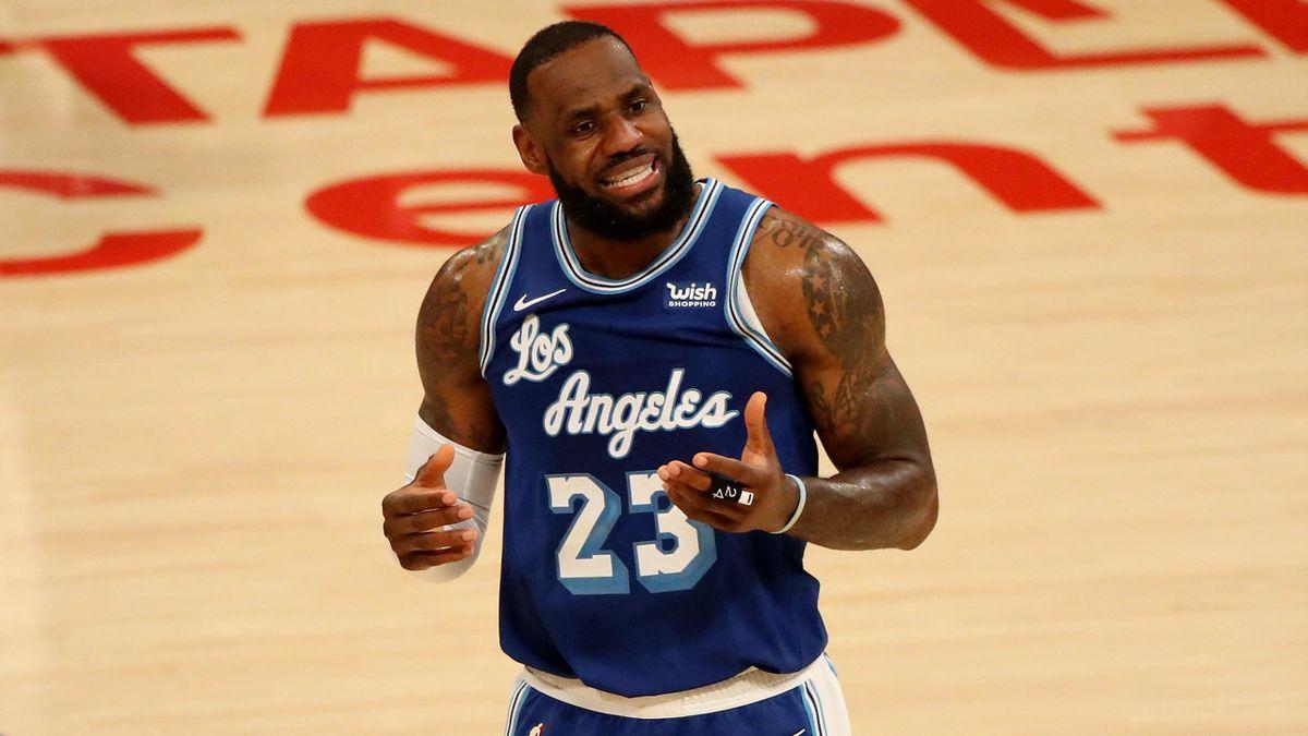 Zweite Niederlage in Folge für die Lakers und James
