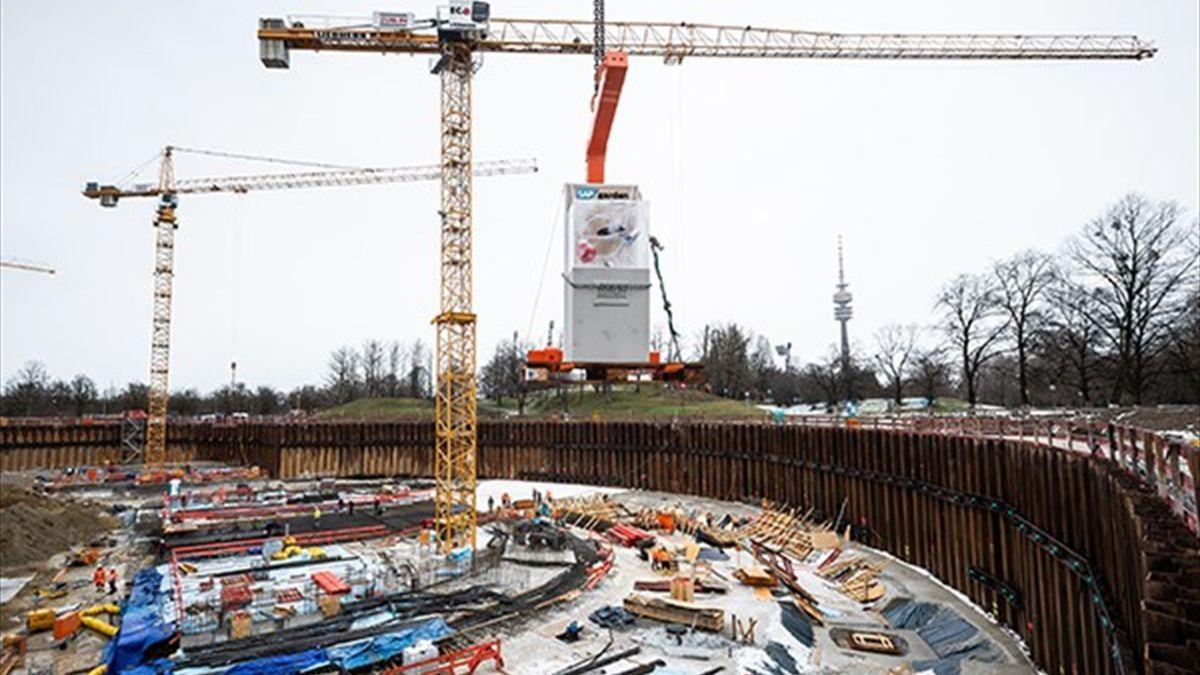 Im Olympiapark München entsteht eine Multifunktionsarena