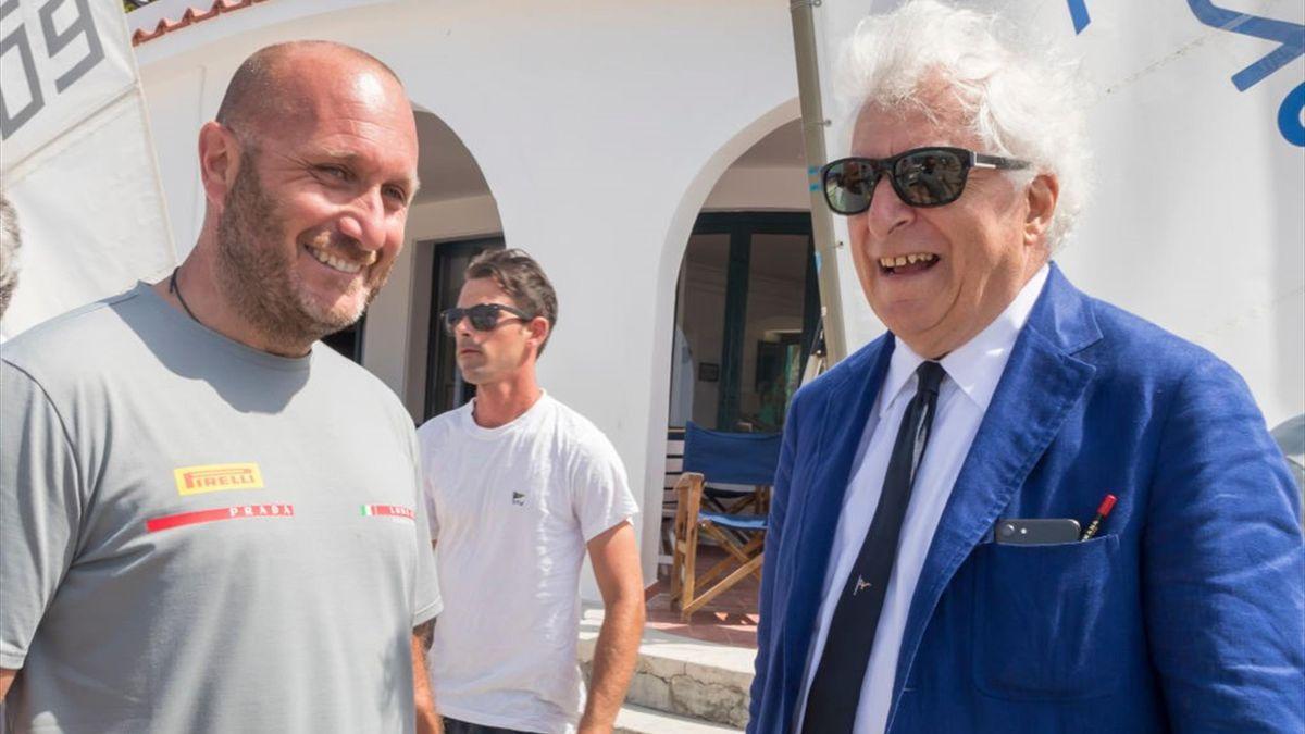 Max Sirena e Patrizio Bertelli