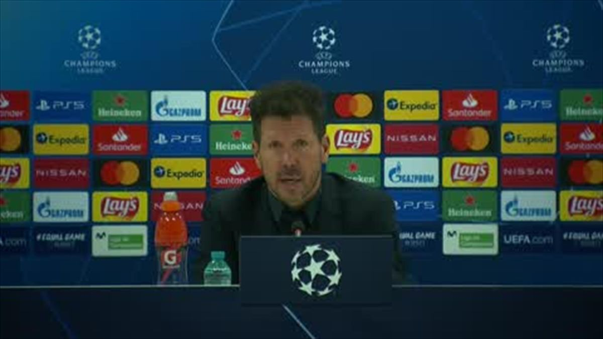 '90 mins left and I trust my team' - Simeone after Atletico loss to Chelsea