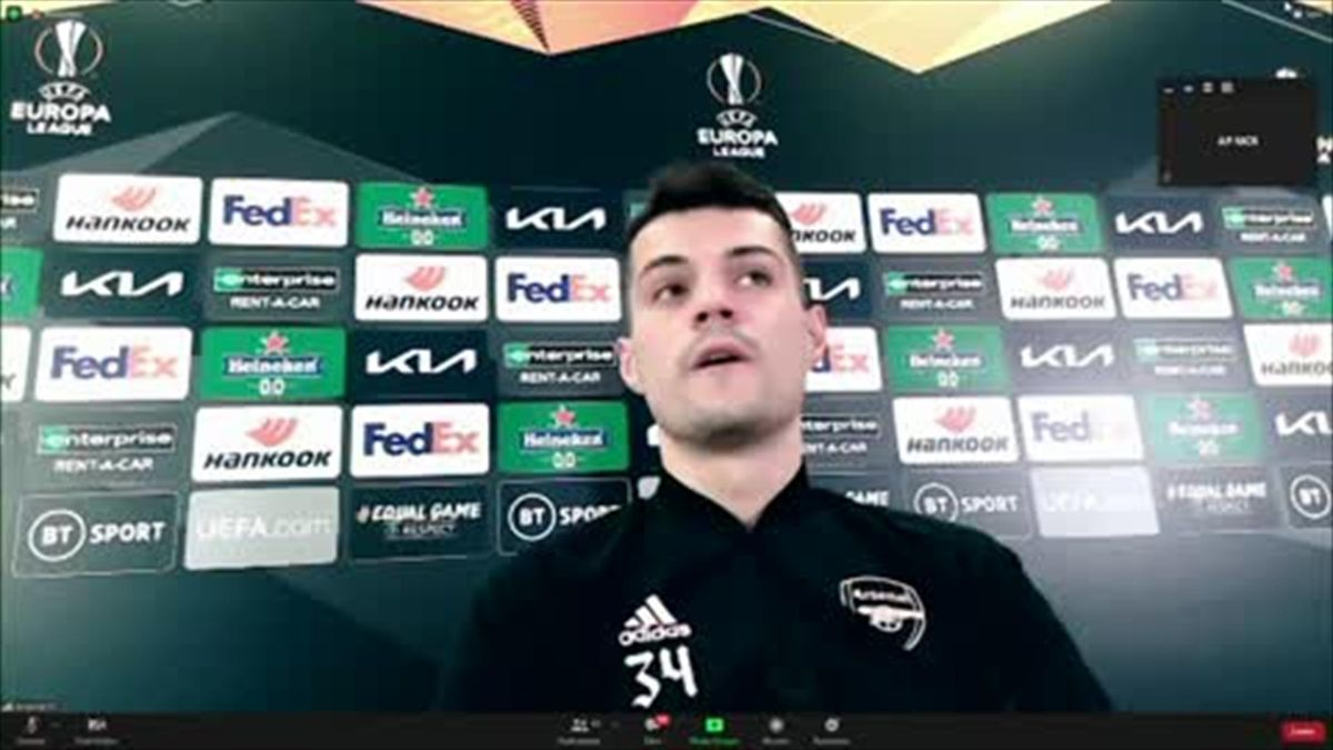 'Everyone would close social media if they saw abuse' - Xhaka