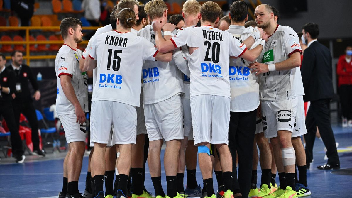 Die deutschen Handballer beginnen gegen Schweden