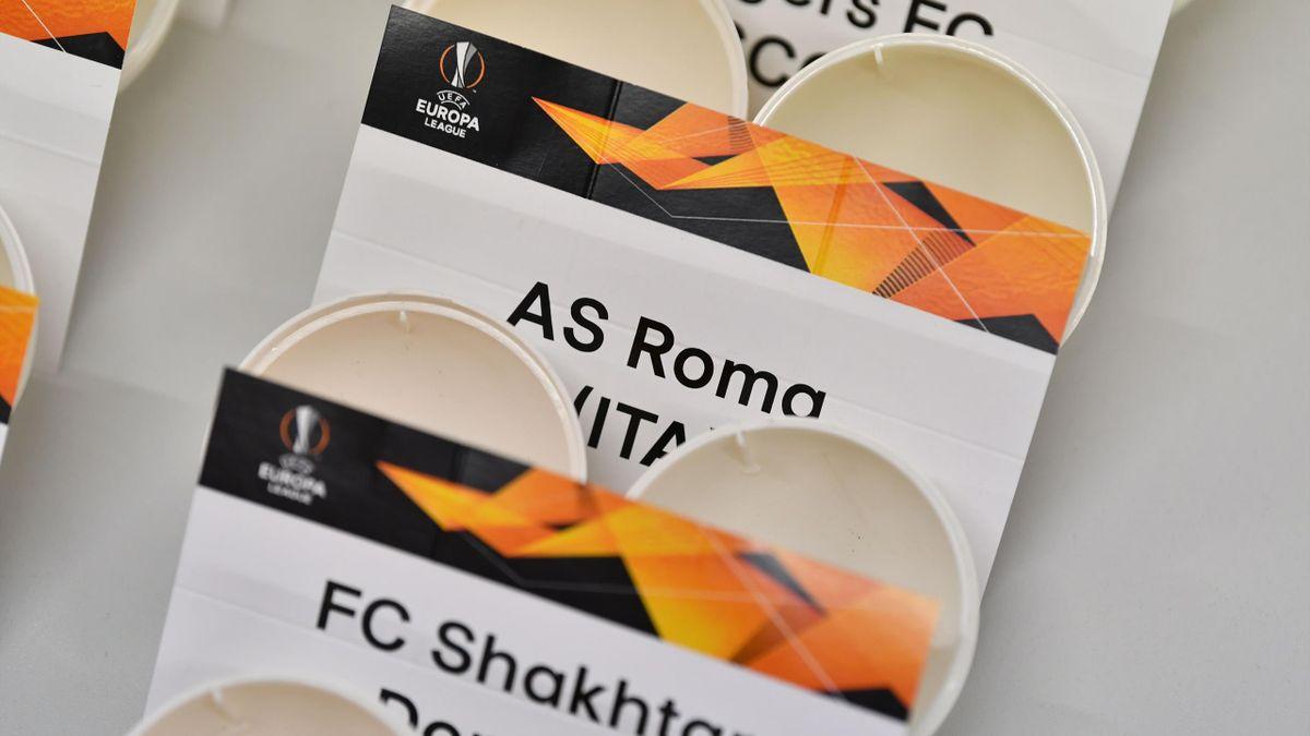 Sorteo de octavos de la Europa League