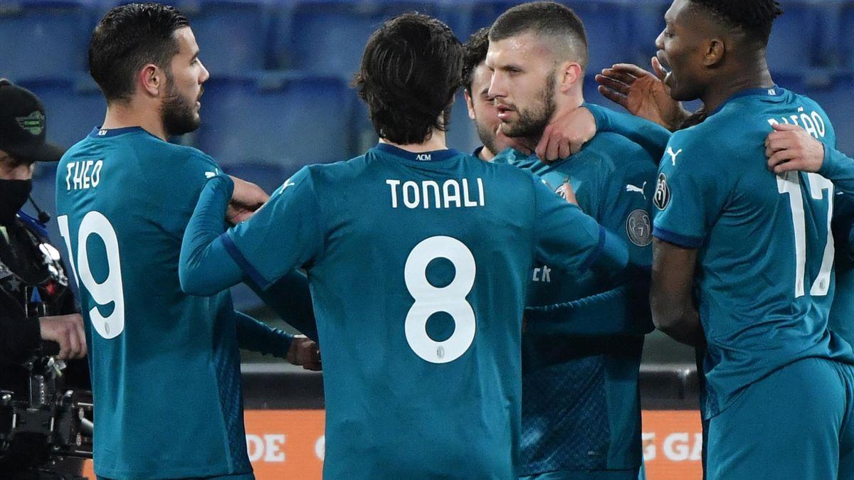 AC Mailand hält nach Sieg Kontakt zur Tabellenspitze