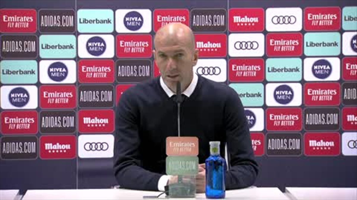 'Real Madrid dominated' - Zidane frustrated after draw with Sociedad