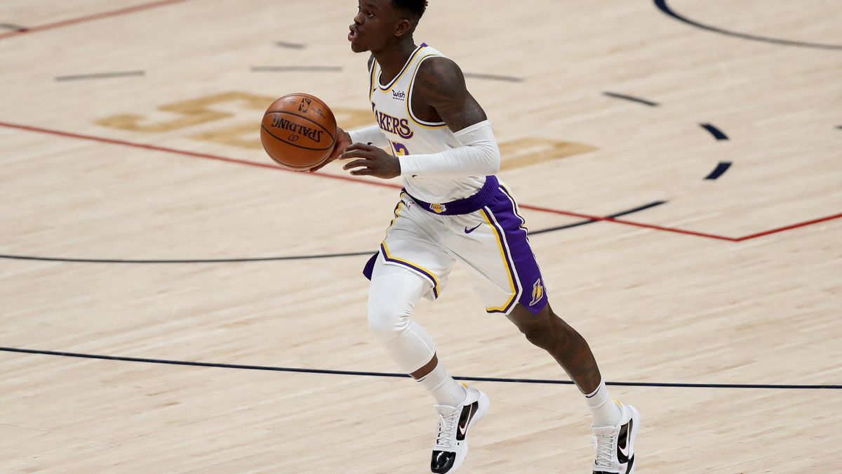 Bester Lakers-Werfer mit 28 Punkten: Dennis Schröder