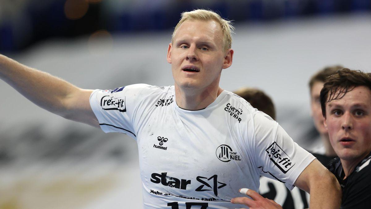 Patrick Wiencek mit acht Toren gegen Nordhorn-Lingen
