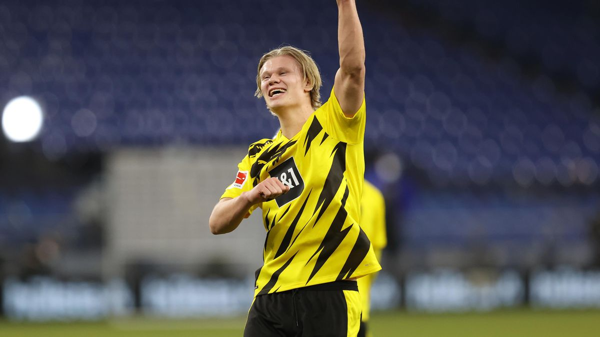 BVB-Star Erling Haaland schießt sein 100. Tor im 146. Spiel