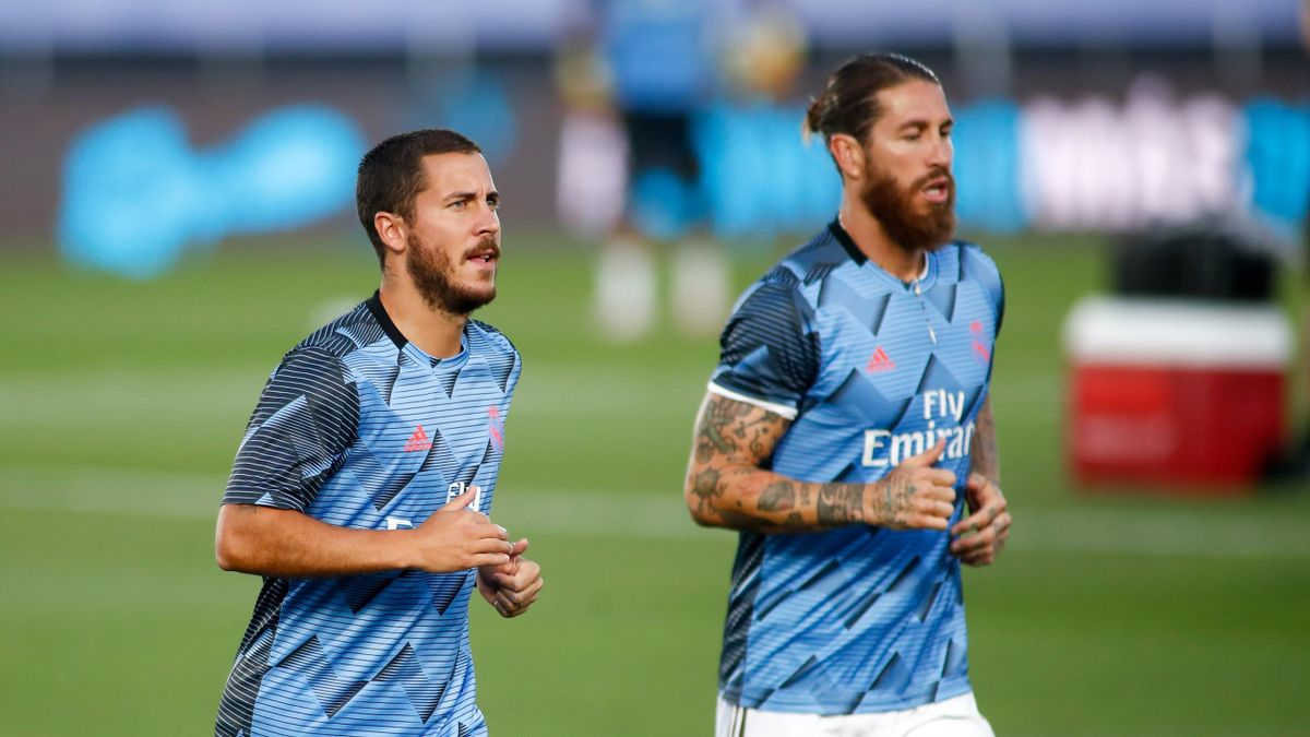 Eden Hazard și Sergio Ramos s-au întors la antrenamentele lui Real Madrid