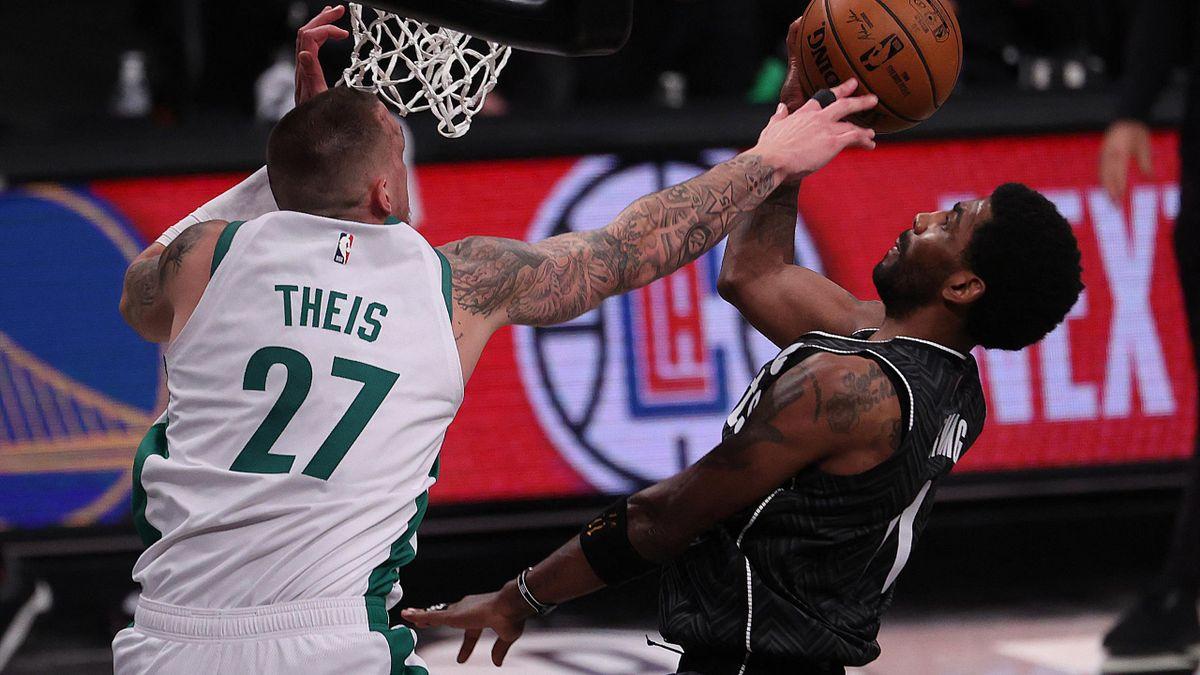 Daniel Theis liegt mit Boston auf Play-off-Kurs