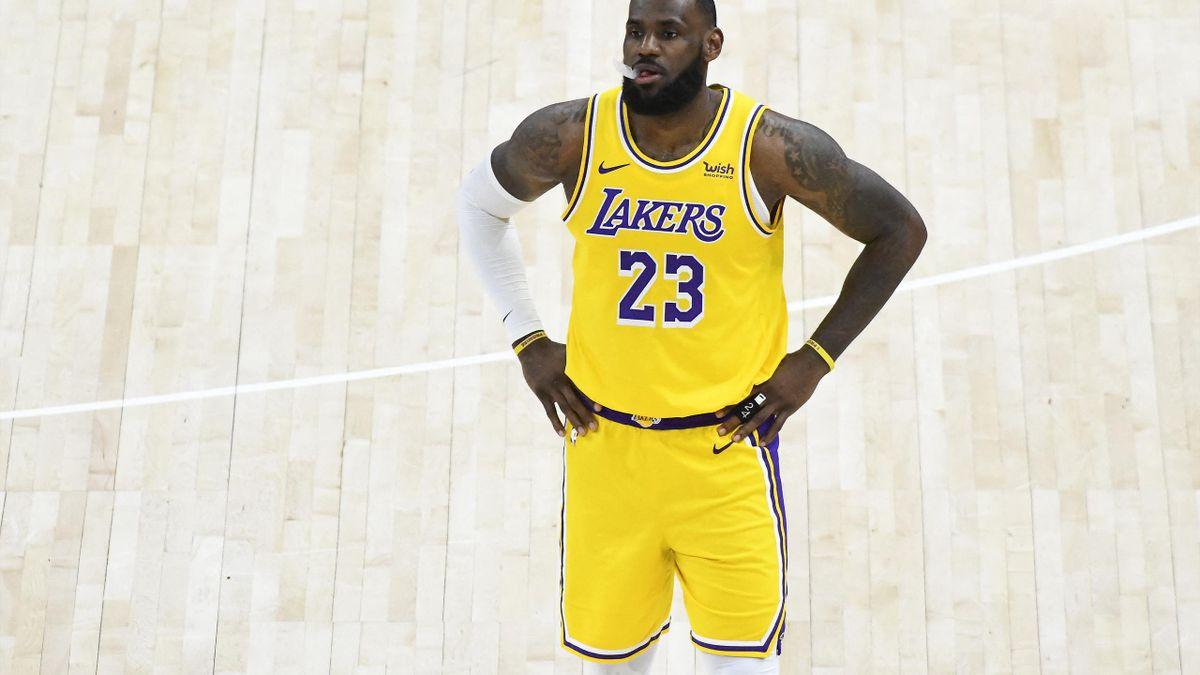 LeBron James von den Los Angeles Lakers