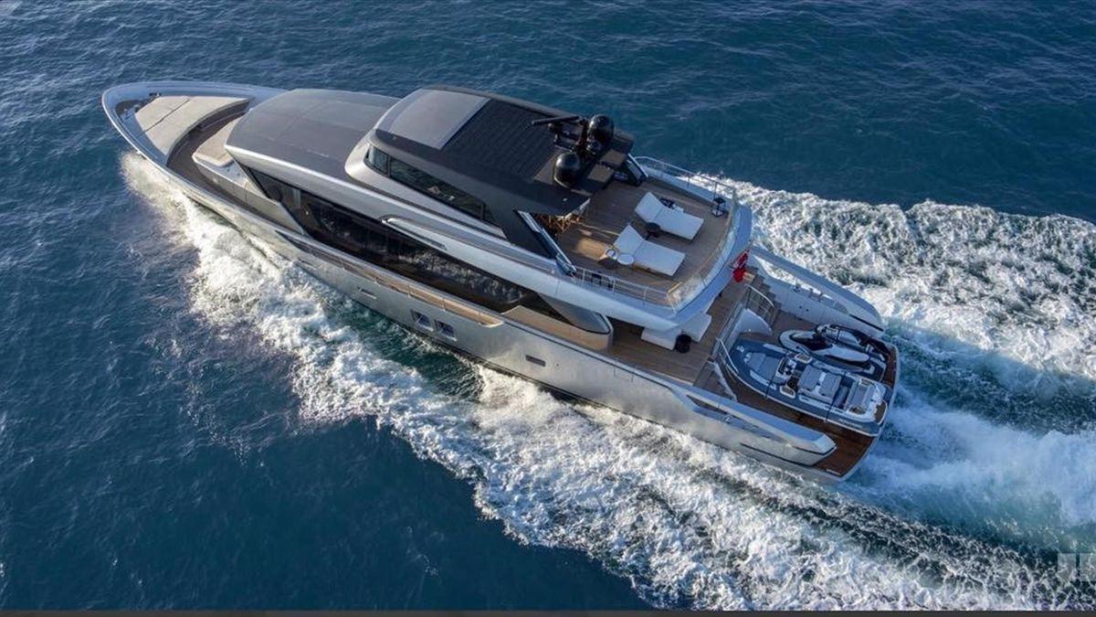 Uno Yacht Sanlorenzo SX88 (Foto Facebook)