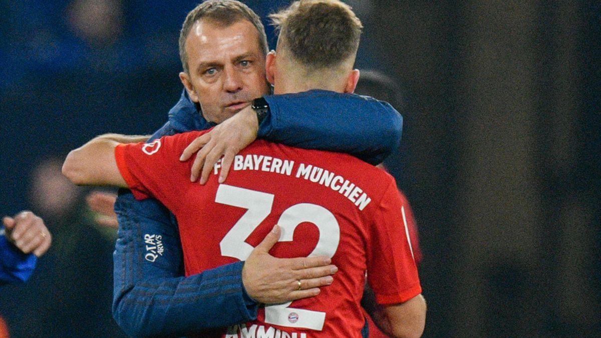 Erfolgsduo beim FC Bayern: Flick (l.) und Kimmich