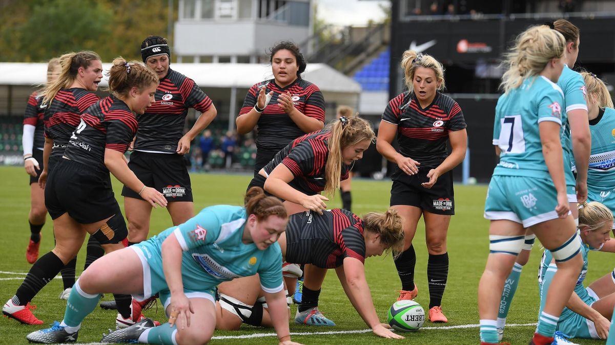 Saracens Women v Worcester Warriors Women, Allianz Premier 15s, Barnet, October 10, 2020