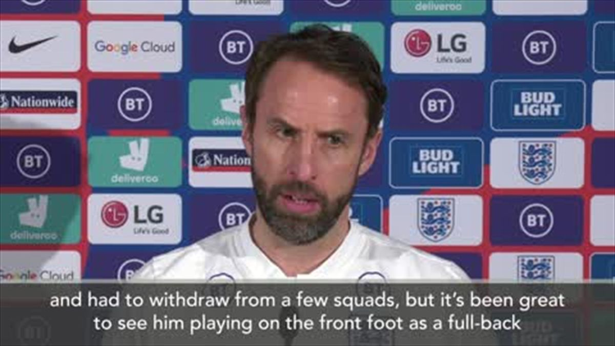 'A little outake there!' - Southgate's press conference interrupted by glitch