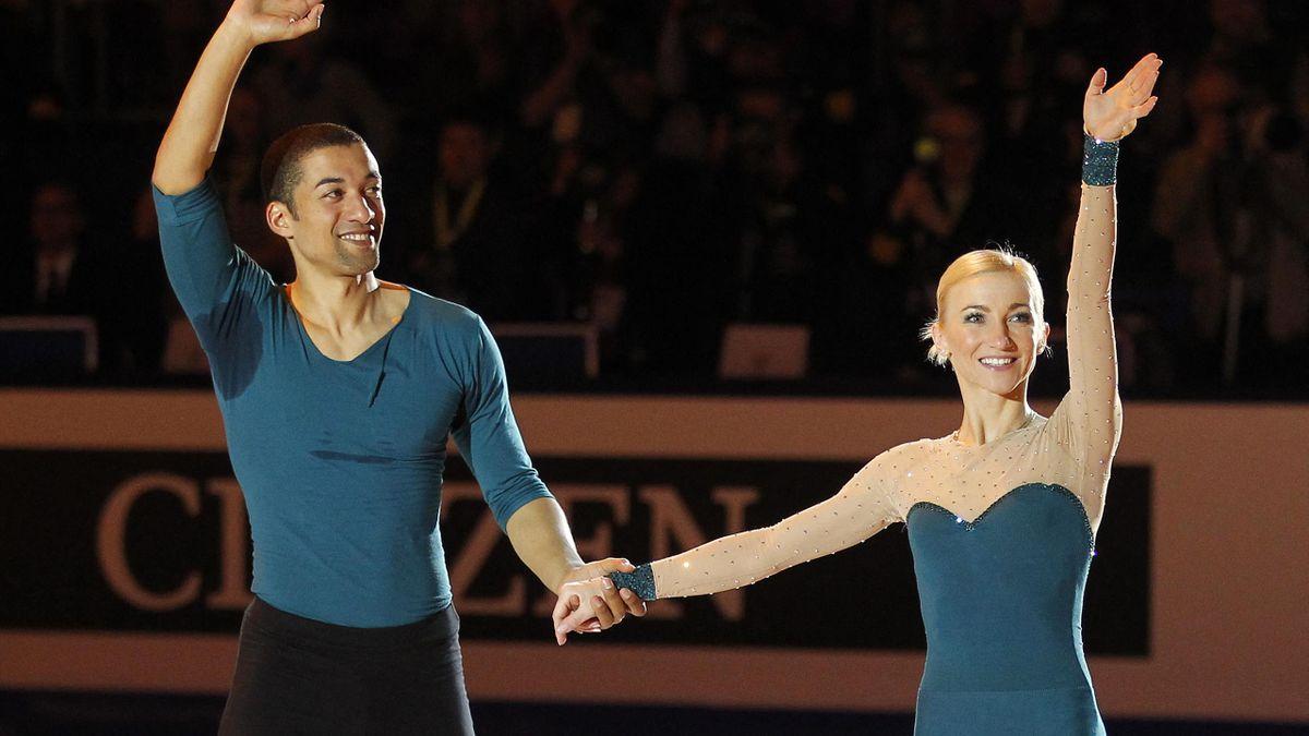 Savchenko (r.) und Szolkowy bei ihrem letzten WM-Titel