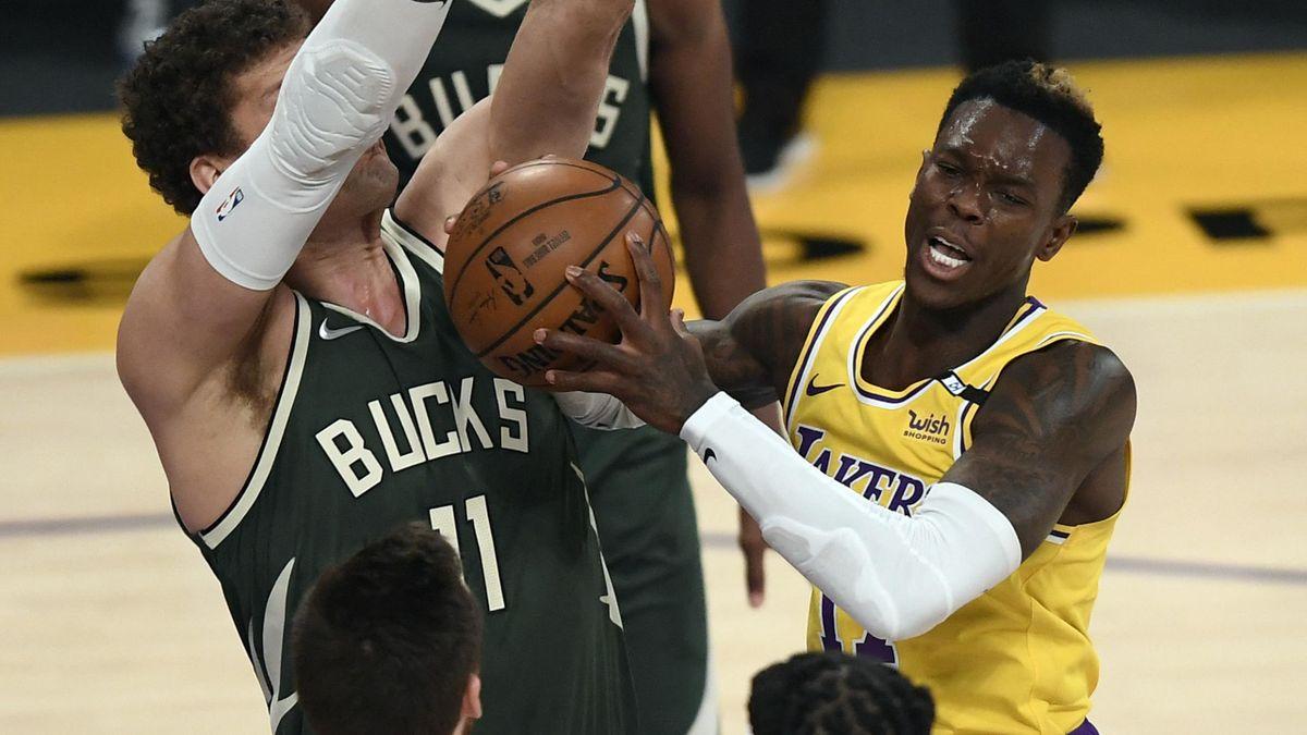 Die Aufgabe Milwaukee war für die Lakers zu groß