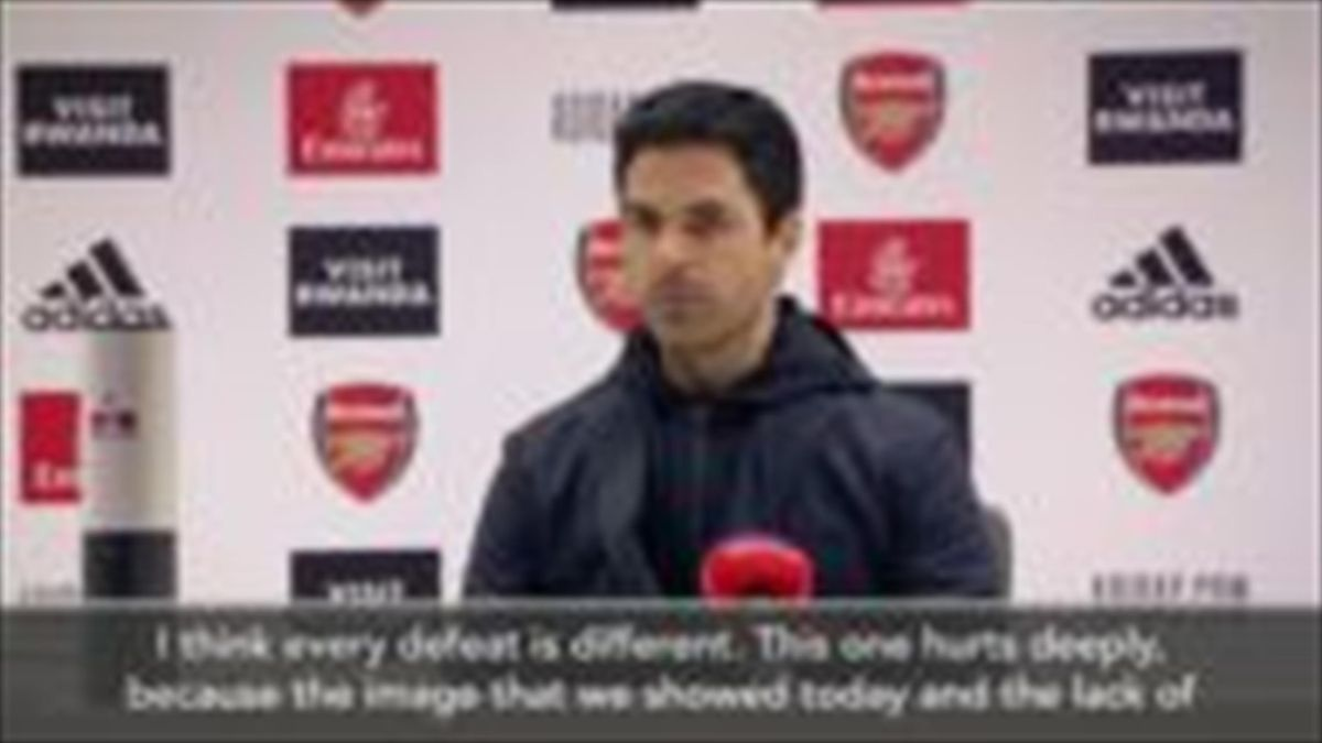 'I'm fully responsible' - Arteta offers apology to fans after humiliating defeat by Liverpool