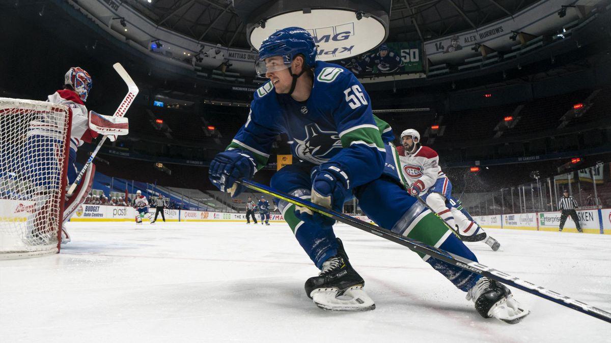 Michaelis von den Vancouver Canucks ist nicht betroffen