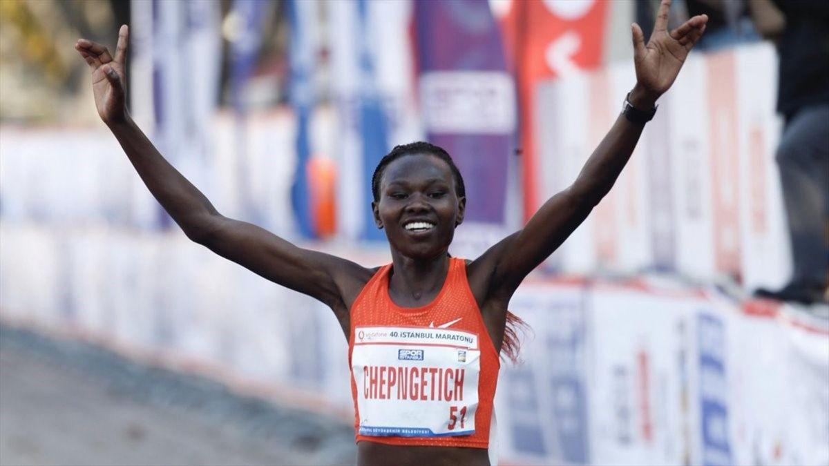istanbul marathon ruth chepngetich