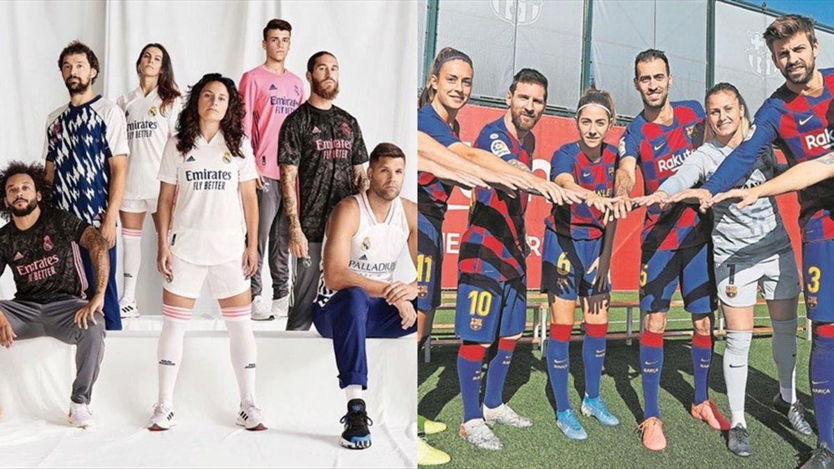 Real Madrid y Barça, ejemplos de unión entre fútbol masculino y femenino
