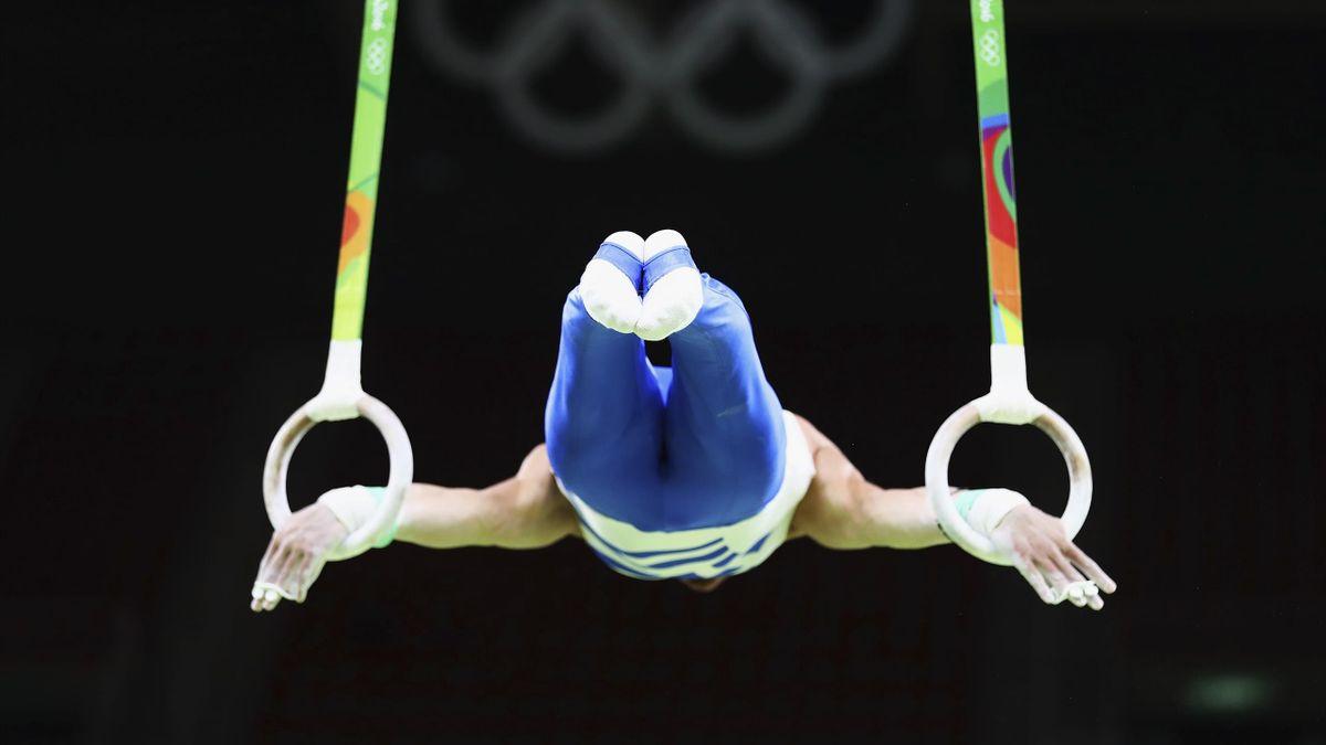 Un ginnasta greco