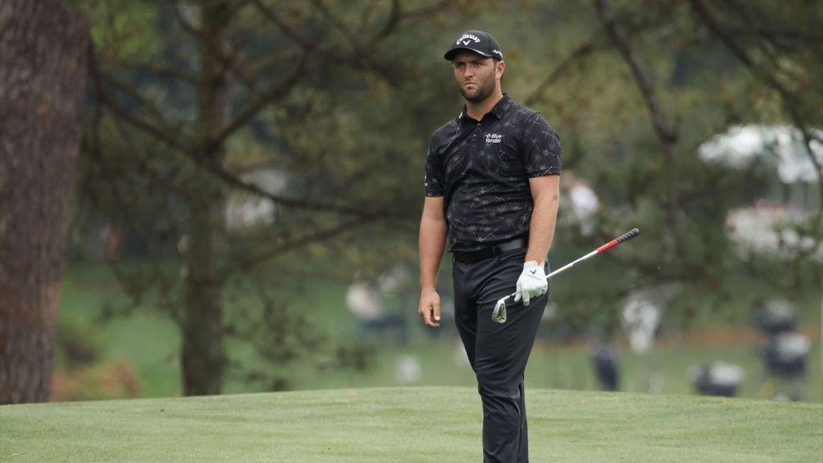 Rahm en la tercera jornada del Masters de Augusta