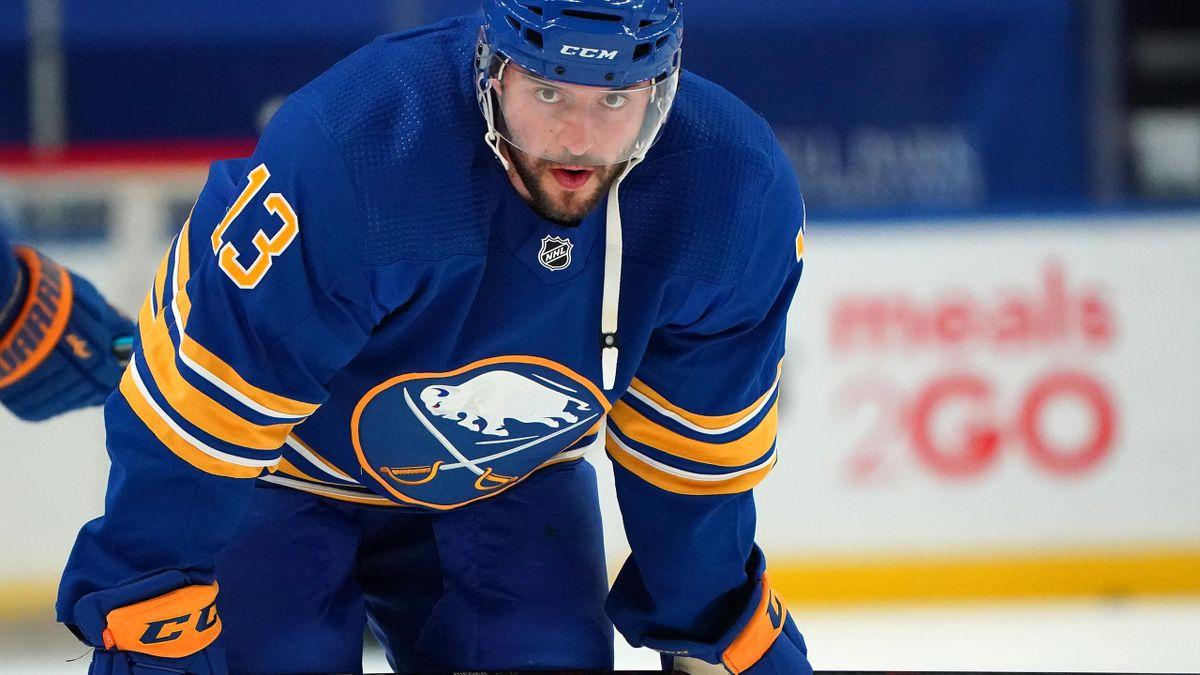 Sieg bei den Flyers: Tobias Rieder von den Buffalo Sabres
