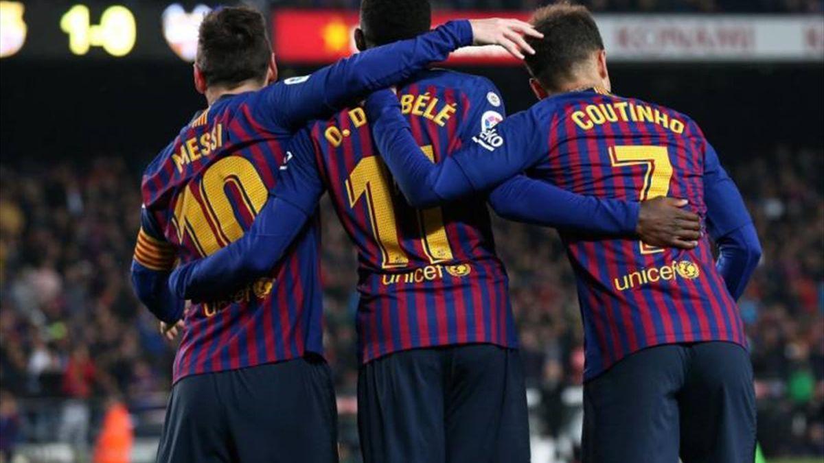 Coutinho és Dembélé sem vált be Barcelonában.