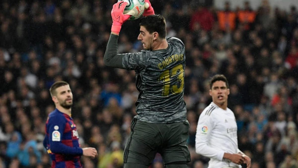 Courtois a gyenge kezdés után otthonra talált Madridban. -
