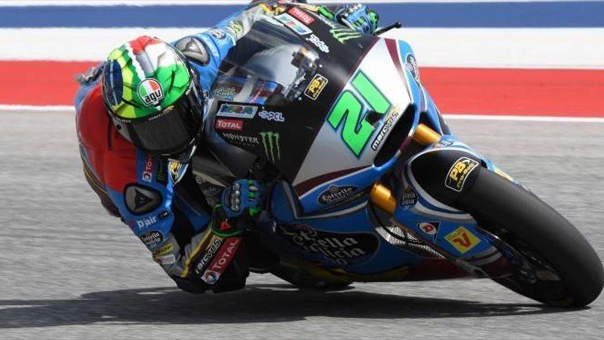 Három verseny, három győzelem Morbidelli neve mellett a Moto2-ben. Megfoghat