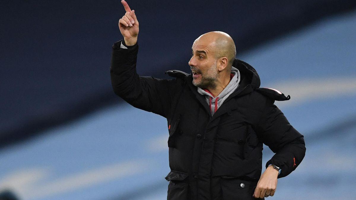 Pep Guardiola ist seit 2016 Trainer von Manchester City