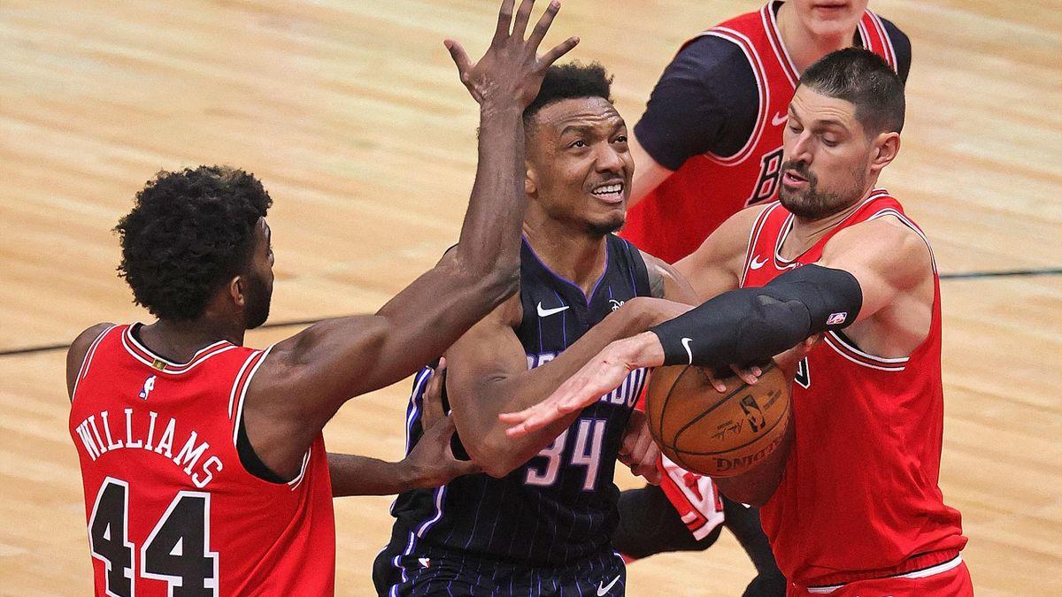 Die Bulls hatten gegen Orlando ihre Mühe und Not