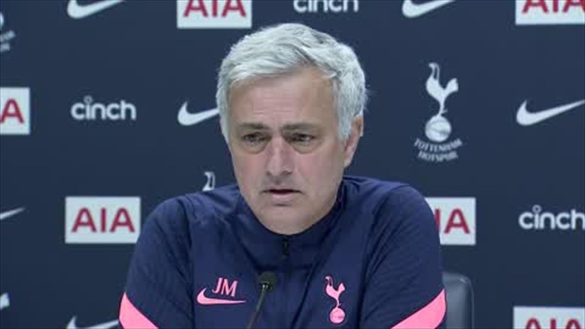 'Champions League race still wide open' - Mourinho ahead of Everton clash