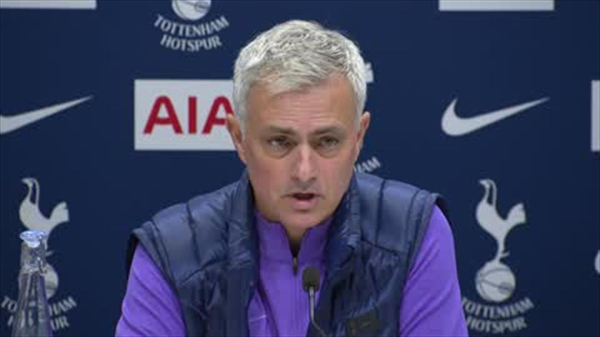 'We are not a horse' - Mourinho press conference highlights at Spurs