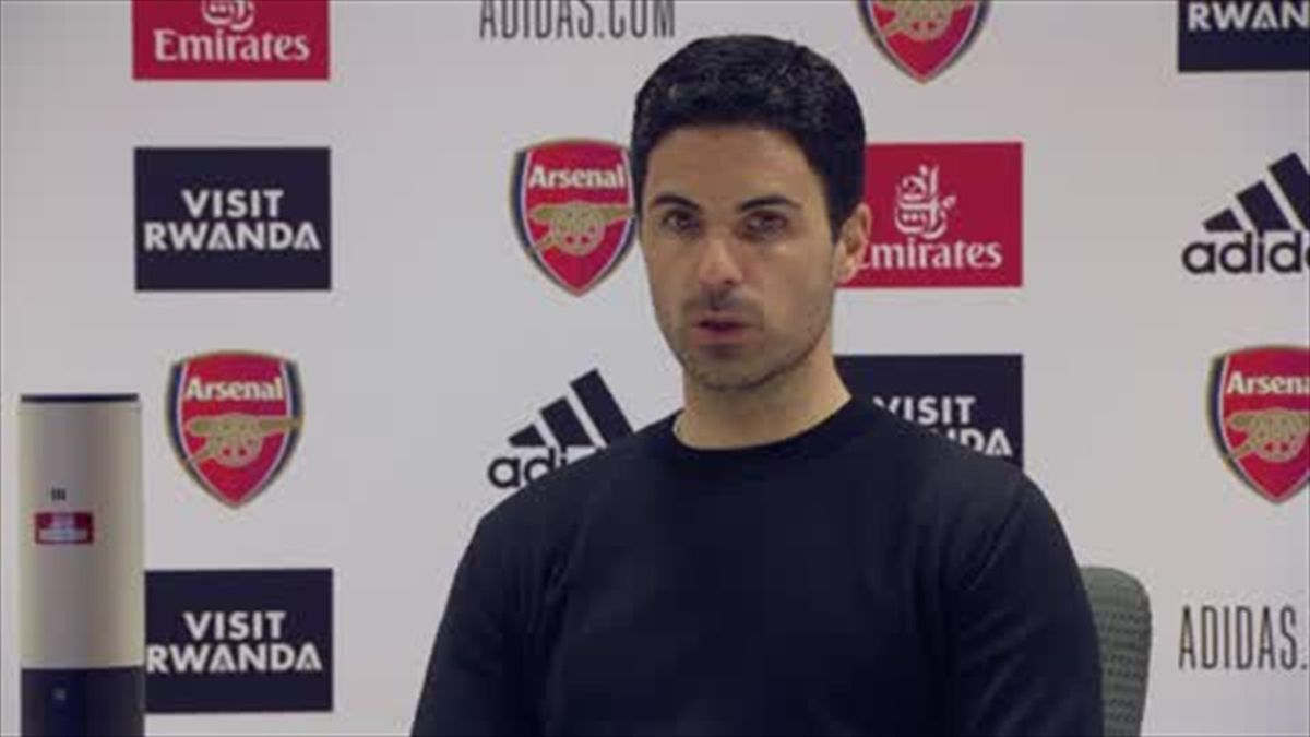 'Enough is enough' - Furious Arteta after referee decisions in 1-0 loss to Everton